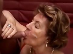 Old, Cum, Cum in Mouth, Granny, Mature, Old