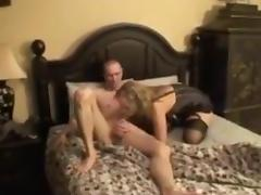 Bisexual, Bisexual, Cuckold, Swallow