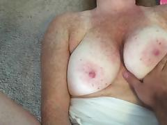 Pink panties doggystyle fuck accidental facial
