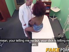 Doctor, Black, Doctor, Doggystyle, Ebony, Bend Over