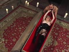 BDSM, BDSM, Big Tits, Blonde, Corset, Facesitting
