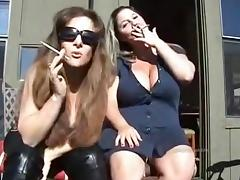 Amazing Homemade clip with Softcore, Smoking scenes