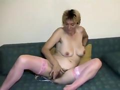 Hottest Homemade clip with Stockings, Masturbation scenes