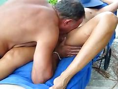 Amazing Homemade clip with Cunnilingus, Outdoor scenes