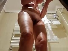 Bathing, Bath, Bathing, Bathroom, Legs, Mature