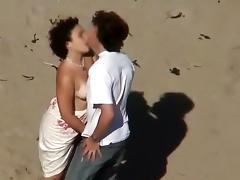 Beach, Beach, Fucking, Kissing, Spy
