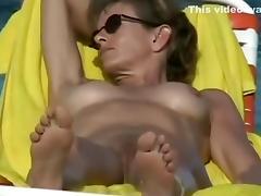 Beach, Beach, Close Up, Cunt, Pussy, Vagina