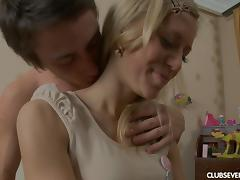 All, Blonde, Blowjob, Couple, Doggystyle, Fingering