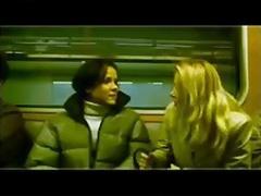 we met on the train