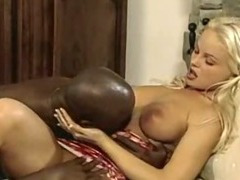 Black, Big Cock, Black, Blonde, Ebony, Monster