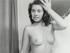 1950, Ass, Babe, Brunette, Classic, Hardcore