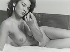 1950, Ass, Babe, Classic, Hairy, Hardcore