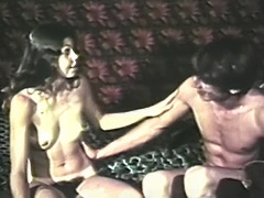 Horny Couple Enjoys 69 and Dildo Fuck 1970
