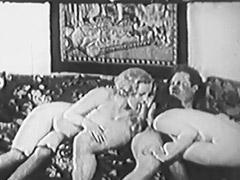 Historic Porn, Blonde, Blowjob, Brunette, Classic, Group