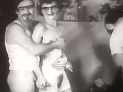 Historic Porn, Ass, Babe, Classic, Gangbang, Group