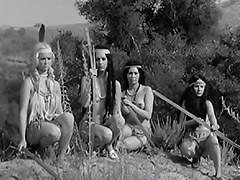 Tribal Dancing of Naked Indian Girls 1960