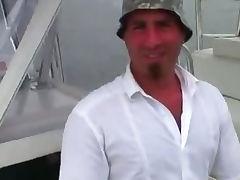 Boat, Blowjob, Boat, Cum, Lucky, Sex