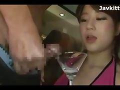 Bukkake, Bukkake, Cum, Drinking, Drunk, Oriental