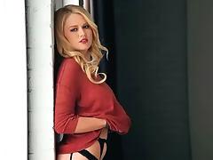 Sexy erotic blonde Anna Sophia Berglund