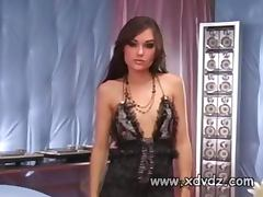Black Stud Has A Great Time With Delicious White Chick Sasha Grey Hammering Her Pussy With His Dick