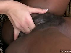 Black and White girls having an amazing lesbian sex