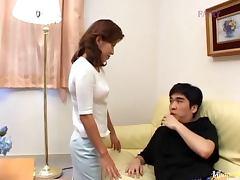Asian Mature, Asshole, Banging, Blowjob, Close Up, Couple