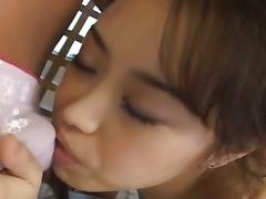 Petite asian hooker enjoys anal sex