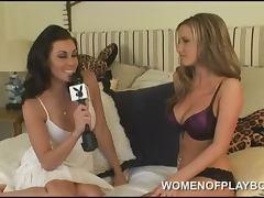 Courtney Kivano Women of Playboy Interview