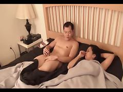 Bed, Asian, Bed, Interracial