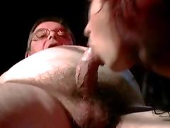 Gold Digging Redheads Fucks An Old Man
