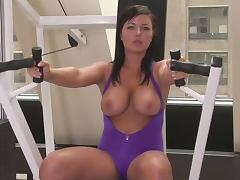 Aerobics, Beauty, Big Tits, Erotic, Sport, Aerobics