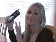 Naughty Allie Titty Fucked While On The Phone