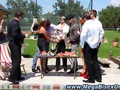 Bisex loving hot group orgy