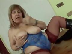 Bbw Granny loves fucking some fresh meat