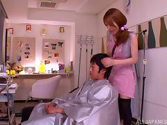 Japanese, Asian, Couple, Handjob, Japanese, Reality