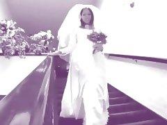 Bride, Bride, Riding, Stockings, Wedding