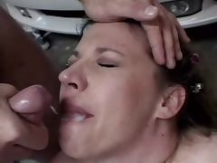 Chubby Blew Sunday Fucked In The Garage