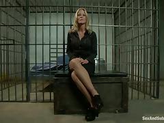 Office, BDSM, Blonde, Bondage, Jail, Office