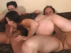 Hairy Hot Lena Gets DP