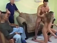 Spouse Watches How Her Wife Drilled By Blondelover