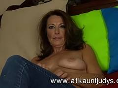Babe, Aunt, Babe, HD, Mature, Older