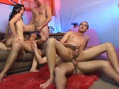 Horny bisexual swinger party