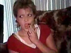 Mature Handjob With Oral Clean Up