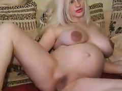 Pregnant, Amateur, Babe, Nipples, Posing, Pregnant