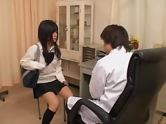 Doctor, Asian, Doctor, Fingering, Gyno, Horny
