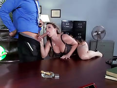 Office, Anal, Big Tits, Blowjob, Boobs, Cumshot