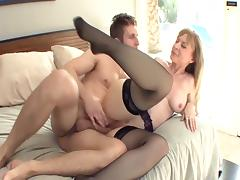 Son's Friend, Big Tits, Blonde, Boobs, Fetish, Friend