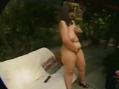 Fat BBW fuck friend fucking and fucked in the Ass- P1