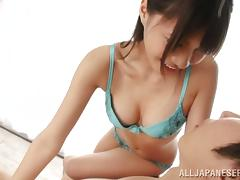 Japanese, Asian, Beauty, Blowjob, Bra, Couple