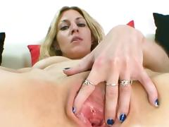 Destructive flaxen-haired sam speculum pussy gape unequalled action.